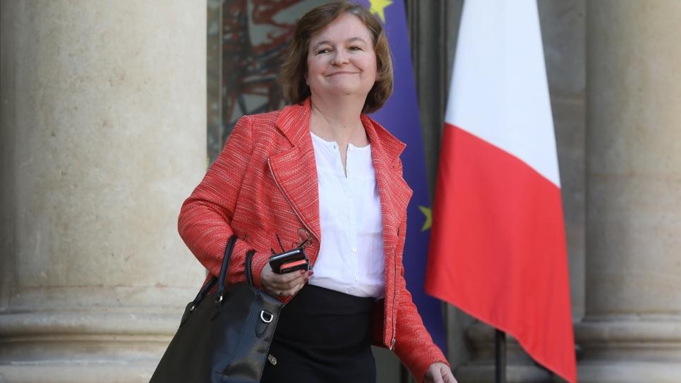 La ministre des Affaires européennes Nathalie Loiseau, le 27 février 2019 à la sortie de l'Elysée, à Paris