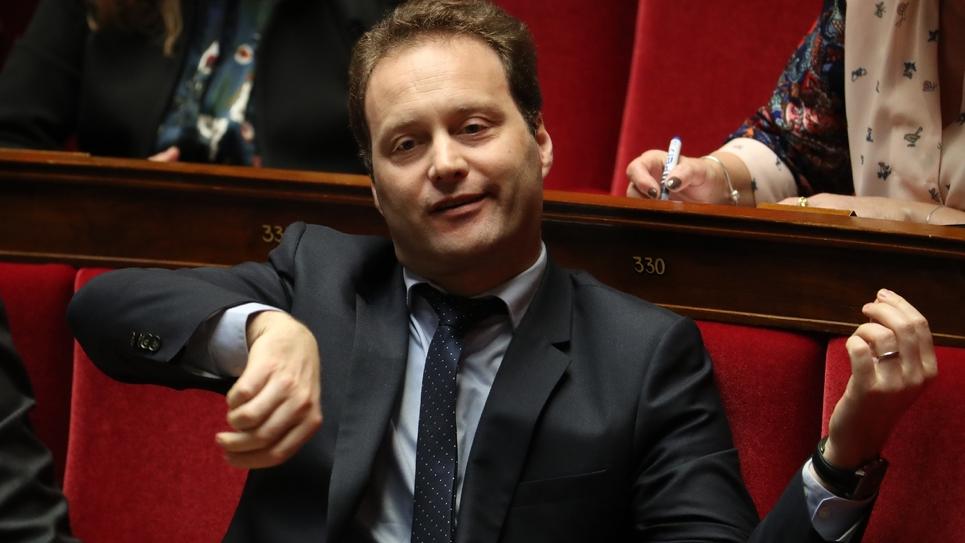 Le député de La République en Marche Sylvain Maillard à l'Assemblée nationale, le 6 mars 2019 à Paris