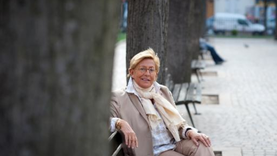 Isabelle Balkany le 16 mars 2011 à Levallois-Perret