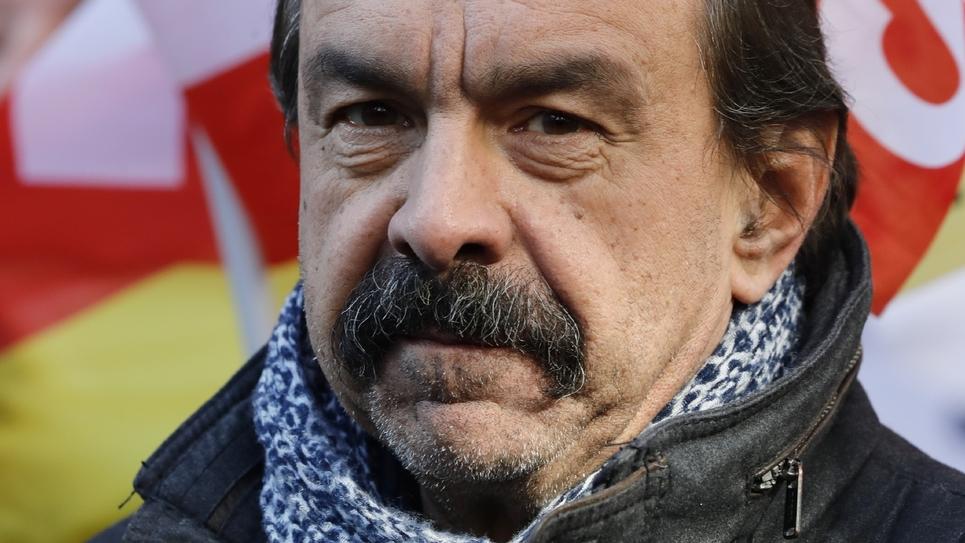 Le secrétaire général de la CGT, Philippe Martinez, le 6 février 2020 à Paris