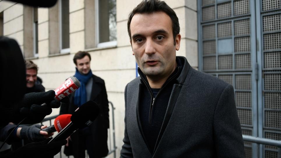 Florian Philippot le 2 janvier 2019 à Paris