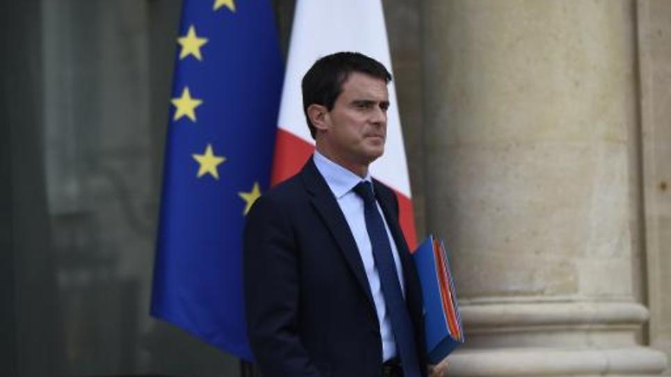 Le Premier ministre Manuel Valls à Paris, le 25 septembre 2014