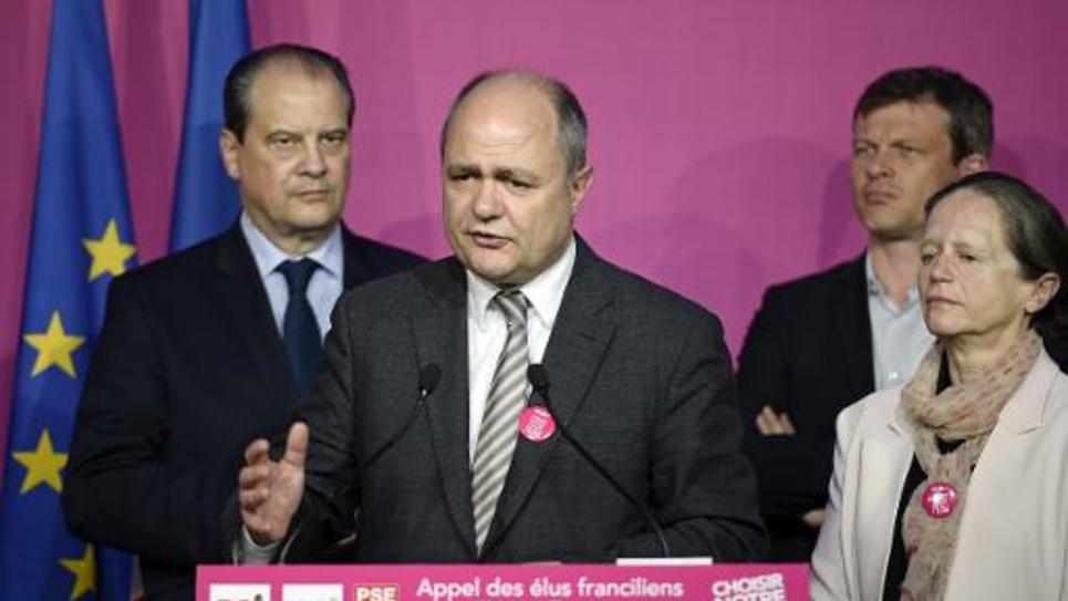 Le président du groupe socialiste à l'Assemblée, Bruno Le Roux, le 14 mai 2014 à Paris