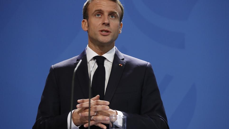 Emmanuel Macron à Berlin, le 18 novembre 2018