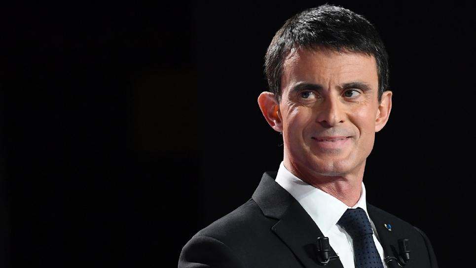 L'ex-Premier ministre Manuel Valls à Paris le 15 janvier 2016
