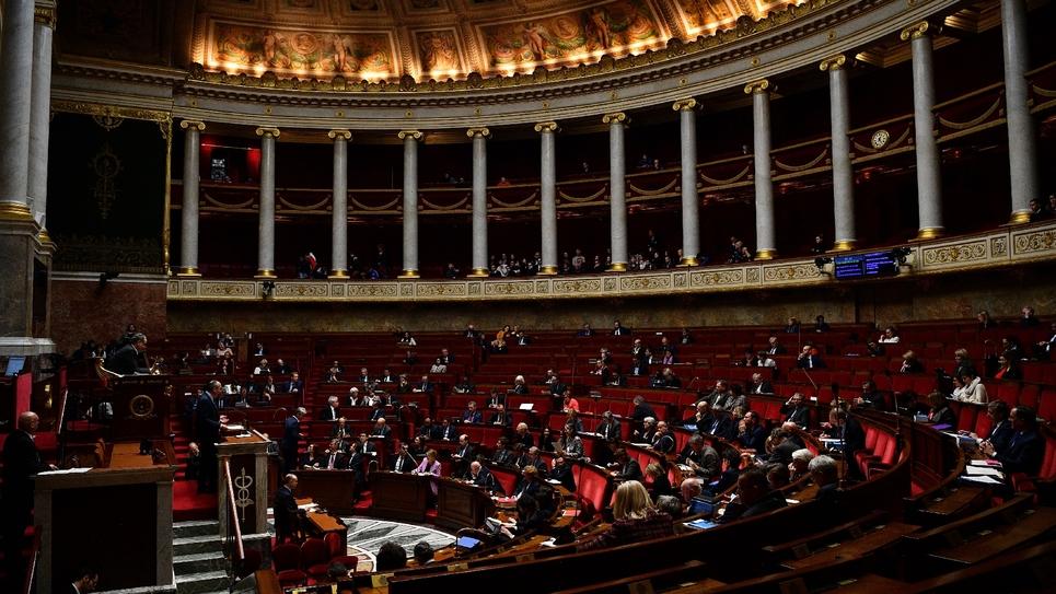 L'Assemblée nationale, le 17 février 2020 à Paris