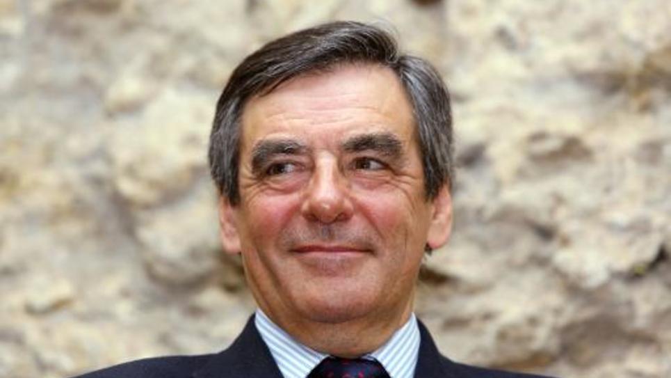 François Fillon, le 6 mars 2014 à Eysines (Gironde)