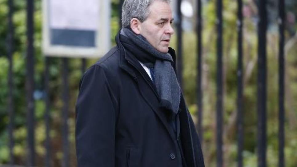 L'ancien ministre UMP Xavier Bertrand, le 8 décembre 2014 à Paris