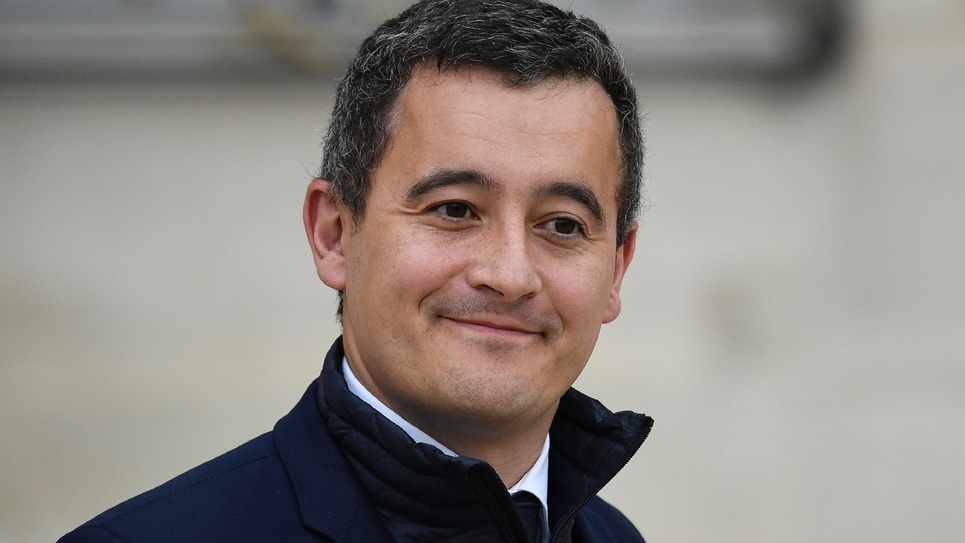 Gérald Darmanin, le 24 octobre 2018 à Paris