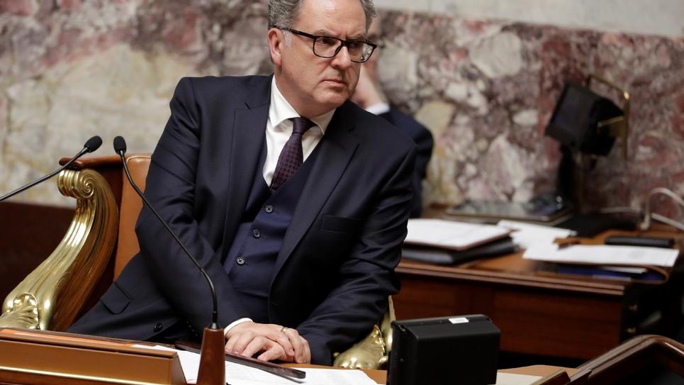 Richard Ferrand à l'Assemblée nationale, le 3 octobre 2018