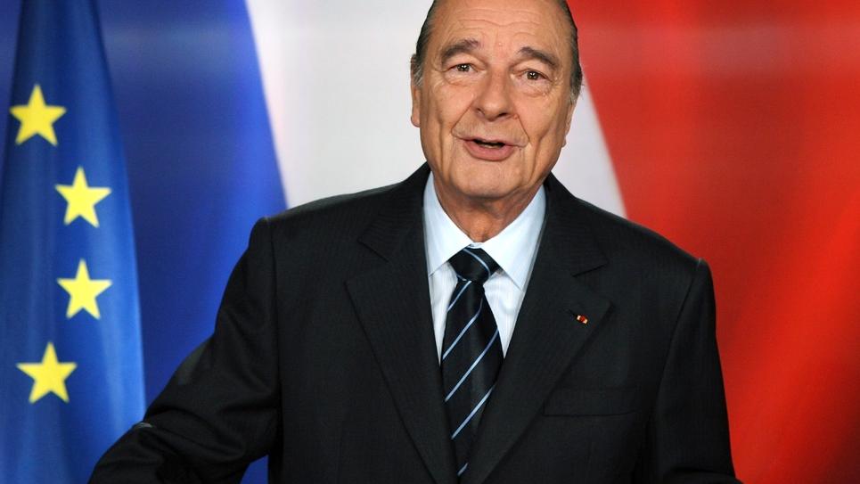 Le président Jacques Chirac le 11 mars 2007 à l'Elysée, mort le 26 septembre 2019