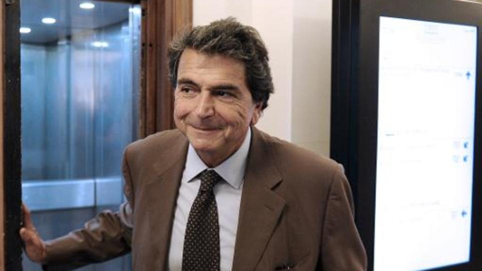 Pierre Lellouche, député UMP de Paris, le 16 septembre 2014 à Paris