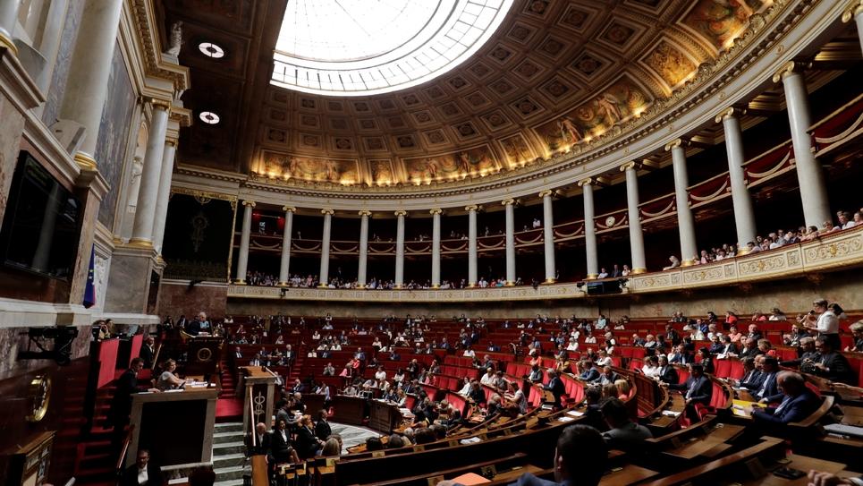 Les députés en séance à l'Assemblée nationale, le 26 juin 2018 à Paris