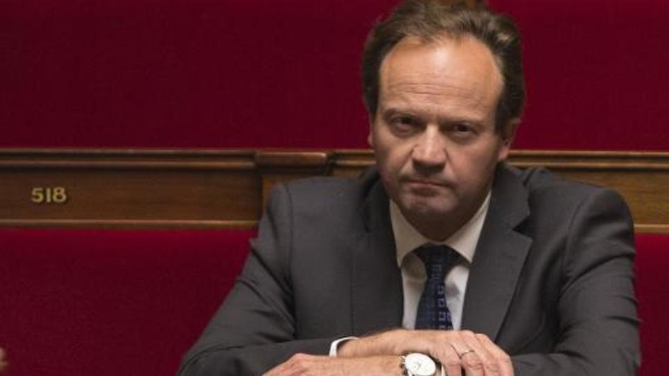 Le député socialiste Jean-Marc Germain le 24 septembre 2014 à l'Assemblée nationale