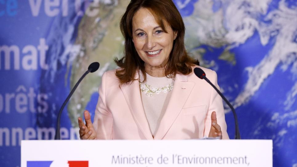 La ministre de l'Environnement Ségolène Royal le 5 janvier 2017 à Paris