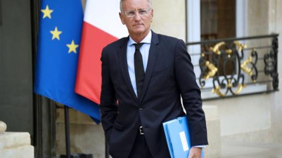 André Vallini à son arrivée à l'Elysée le 27 août 2014 à Paris