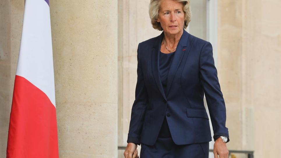 Caroline Cayeux, présidente de Villes de France, reçue à l'Elysée en septembre 2018