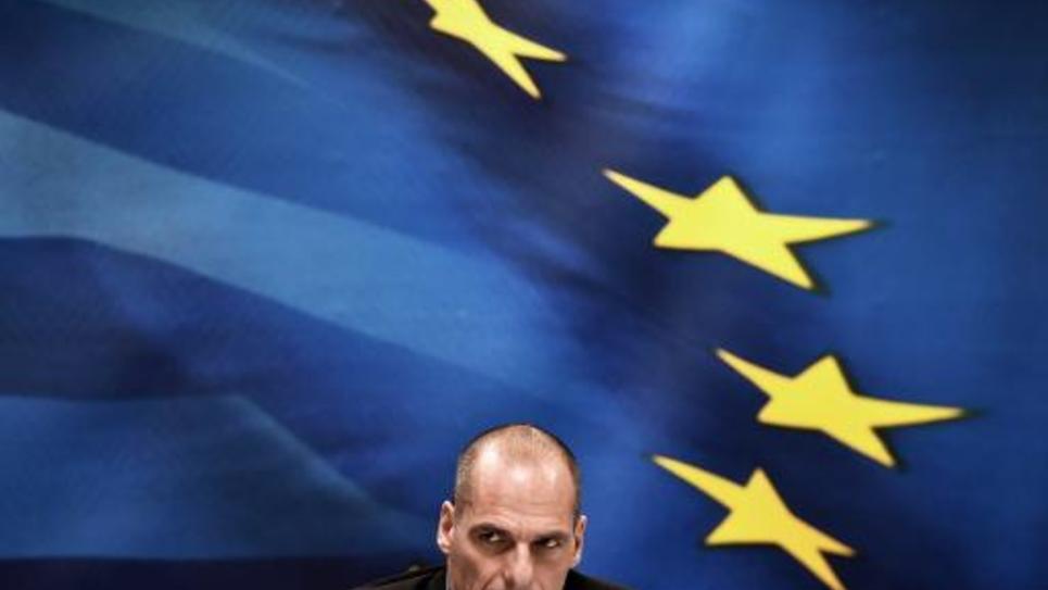 Le ministre des Finances grec Yanis Varoufakis à Athènes, le 30 janvier 2015