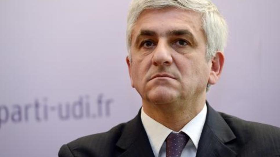 Le président du Nouveau Centre, Hervé Morin, le 6 mai 2013