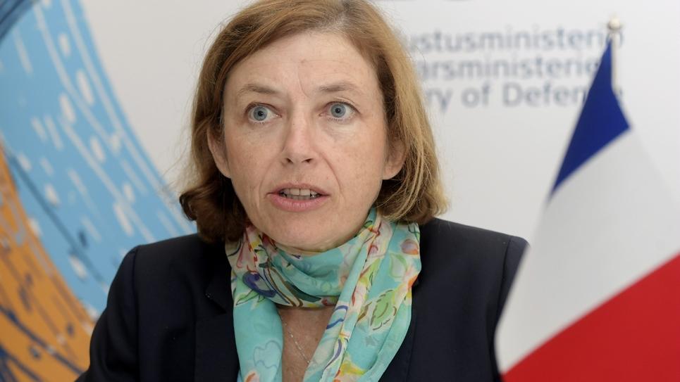La ministre des Armées Florence Parly à Helsinki, le 23 août 2018