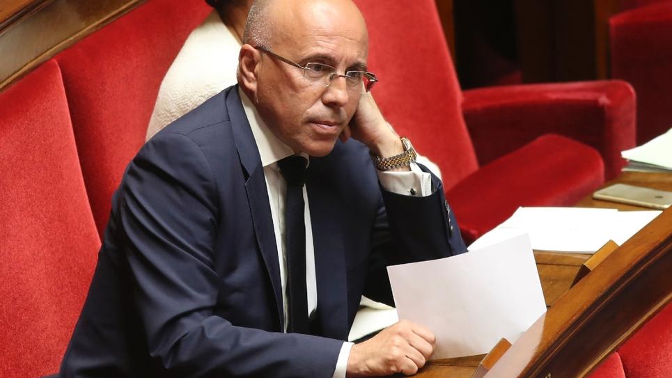 Le député LR Eric Ciotti, le 9 août 2017 à Paris