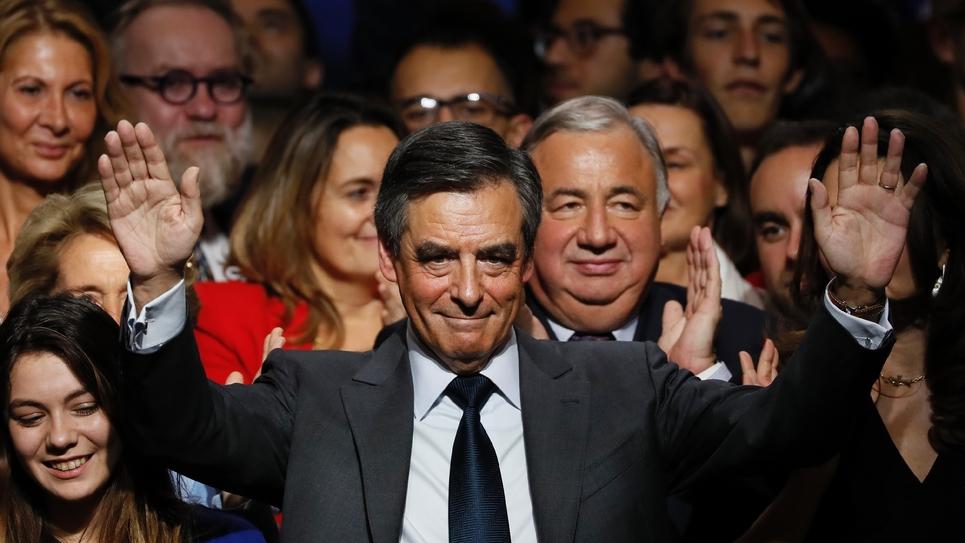 François Fillon, le 25 novembre 2016, durant un meeting à Paris