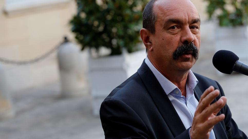 Philippe Martinez à Matignon le 6 septembre 2019