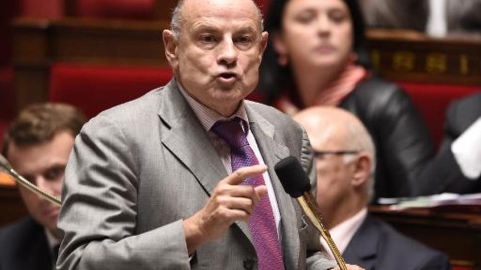 Le secrétaire d'Etat aux Relations avec le Parlement, Jean-Marie Le Guen, le 15 octobre 2014 à l'Assemblée nationale à Paris