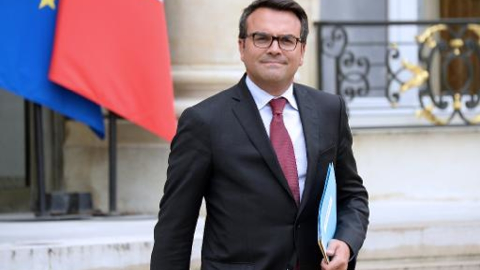 Le député Thomas Thévenoud, le 27 août 2014 à l'Elysée à Paris