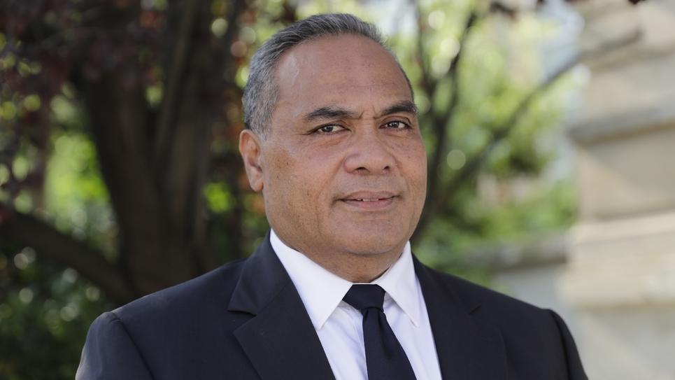Napole Polutele (apparenté au groupe UDI, Agir et indépendant), à l'Assemblée nationale, le 21 juin 2017