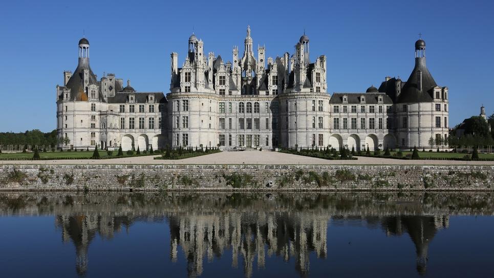 Le château de Chambord, le 12 juin 2017