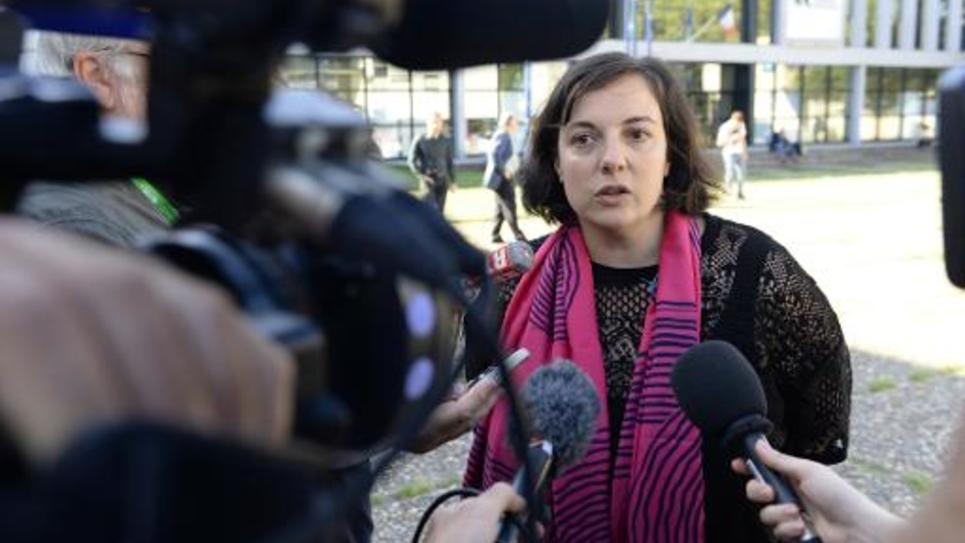 Emmanuelle Cosse le 21 août 2014 à Pessac