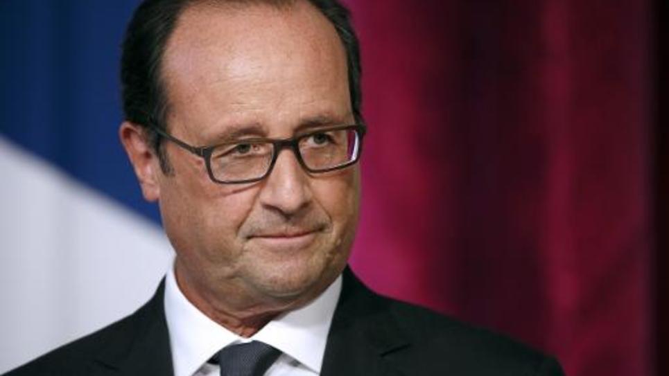 François Hollande le 9 septembre 2014 à l'Elysée à Paris