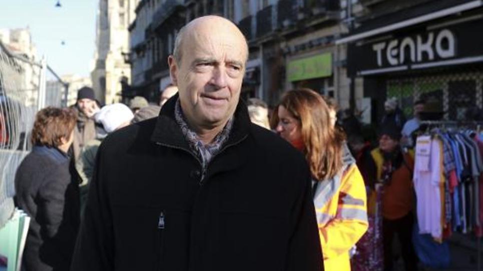 Alain Juppé à Bordeaux le 6 décembre 2014