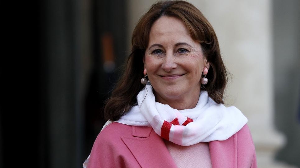 La ministre de l'Environnement Ségolène Royal, le 10 décembre 2016 à l'Elysée