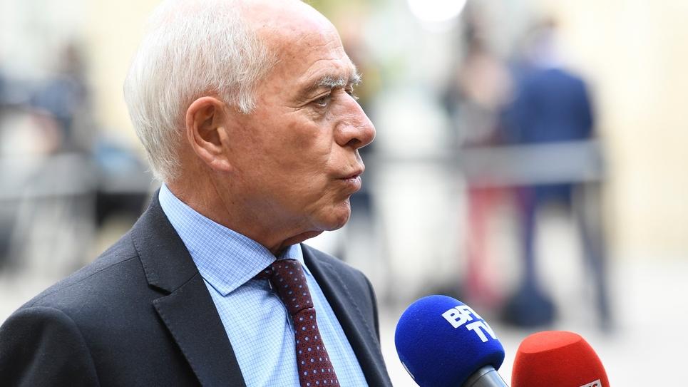 François Patriat en avril 2019 à Matignon