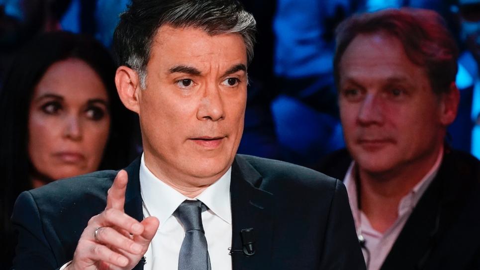 Le premier secrétaire du PS Olivier Faure, à Boulogne-Billancourt le 10 avril 2019