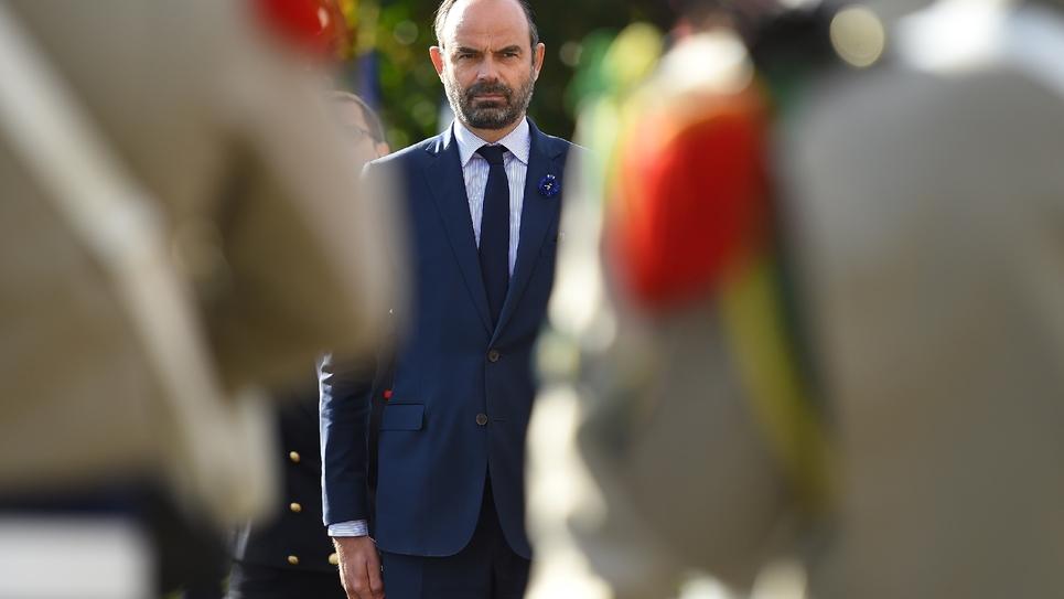 Le Premier ministre Édouard Philippe à Malzieu-Ville en Lozère, le 26 octobre 2018