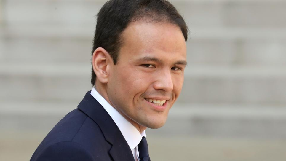Cédric O, le nouveau secrétaire d'Etat au Numérique, le 1er avril 2019 à Paris