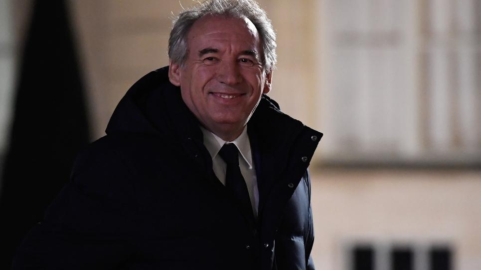 François Bayrou le 21 novembre 2018 à Paris