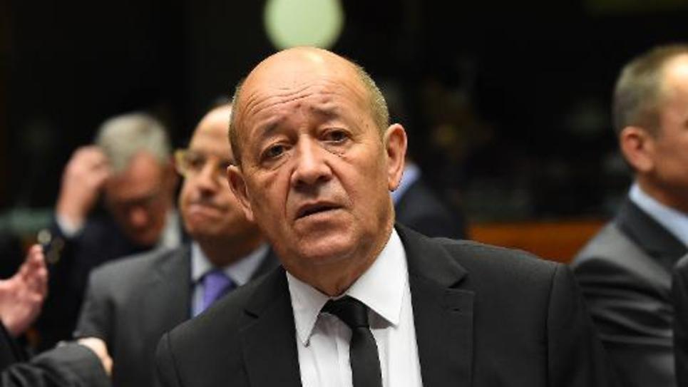 Jean-Yves Le Drian, ministre de la Défense, le 18 novembre 2014