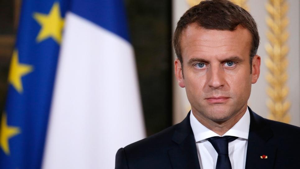 Emmanuel Macron à l'Elysée, le 19 juin 2017
