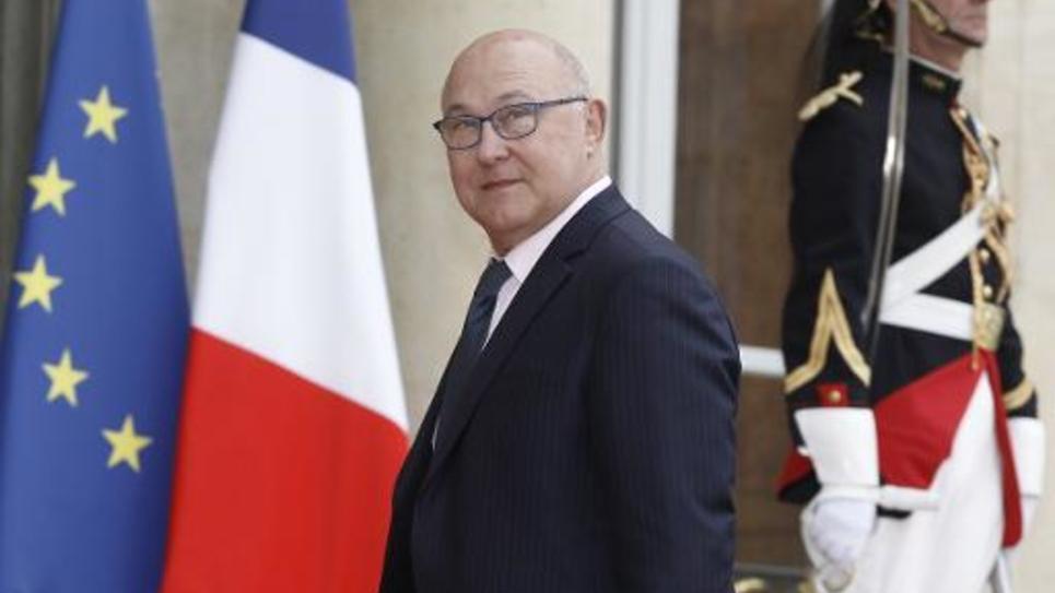 Le ministre des Finances français Michel Sapin à Paris le 18 mai 2015
