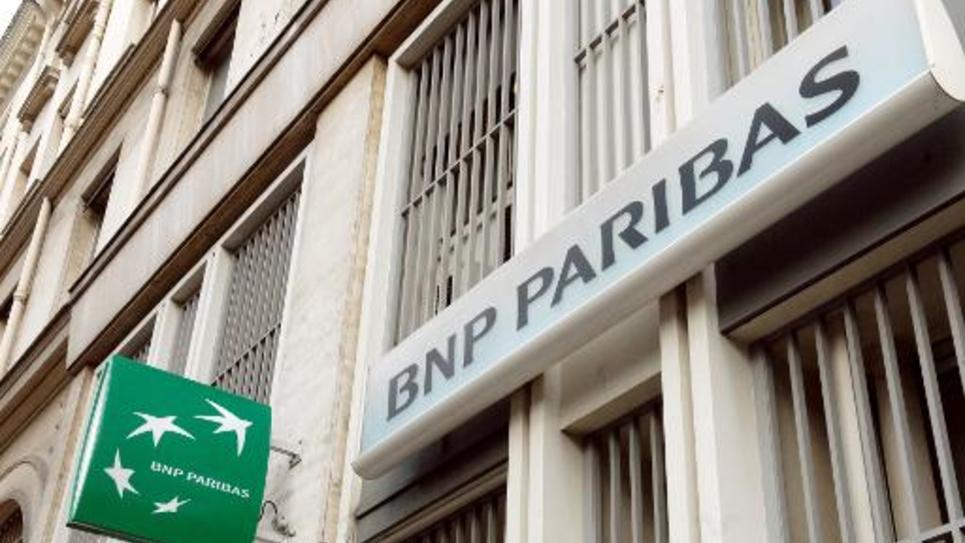 Une agence de BNP Paribas à Paris