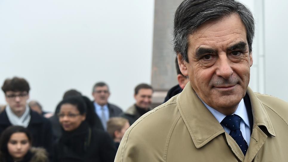 François Fillon le 11 décembre 2016 à Sablé-sur-Sarthe