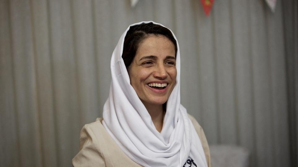 Me Nasrin Sotoudeh, le 18 septembre 2013 à Téhéran