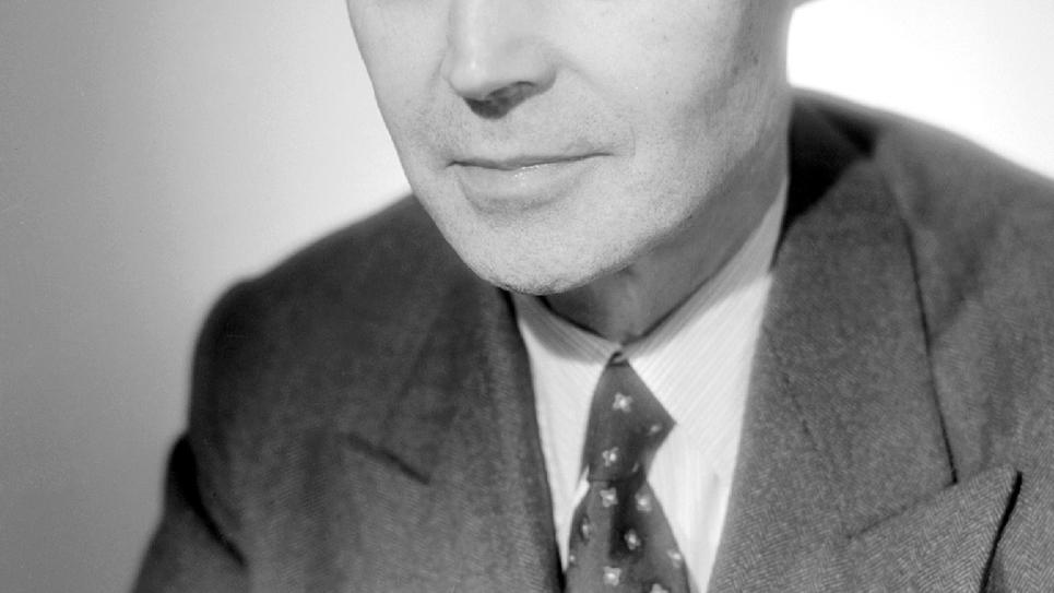 Portrait de Maurice Genevoix, datant des années 40