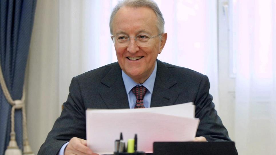 Georges Sarre le 21 février 2011 à Paris, alors maire du 11e arrondissement