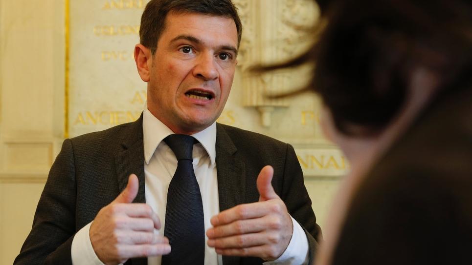 Benoist Apparu à l'Assemblée nationale à Paris le 16 juin 2016