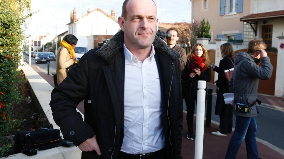 Le maire FN d'Hénin-Beaumont Steeve Briois, le 7 décembre 2015 à Nanterre près de Paris